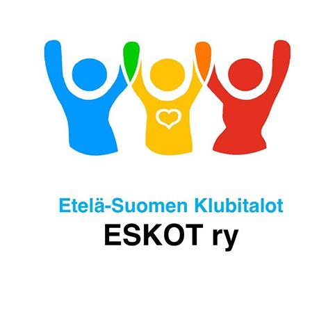 Etelä-Suomen Klubitalot ESKOT ry:n logo